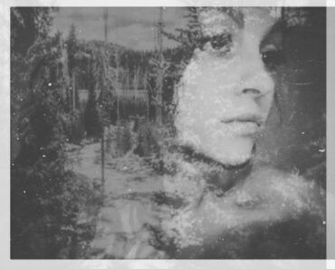 The outsiders - a double exposure self portrait
