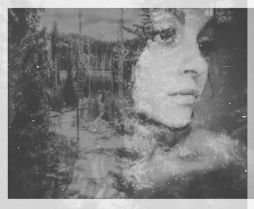 The outsiders – a double exposure self portrait
