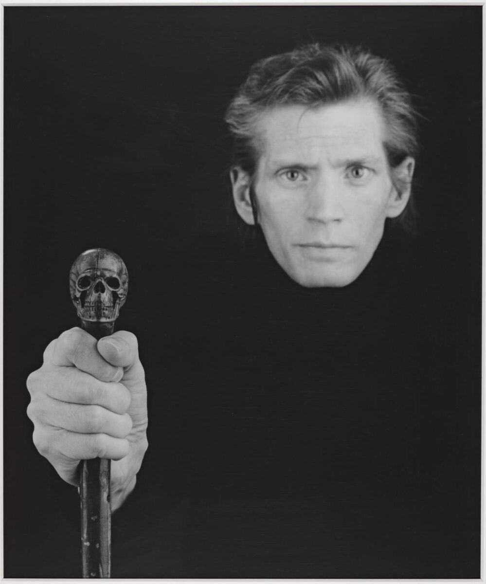 Robert Mapplethorpe  Self Portrait  1988